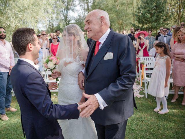 Le mariage de Taher et Adeline à La Boissière-École, Yvelines 33
