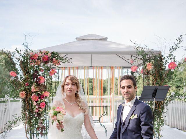 Le mariage de Taher et Adeline à La Boissière-École, Yvelines 35