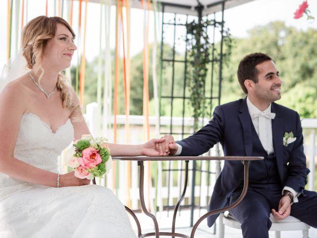 Le mariage de Taher et Adeline à La Boissière-École, Yvelines 36