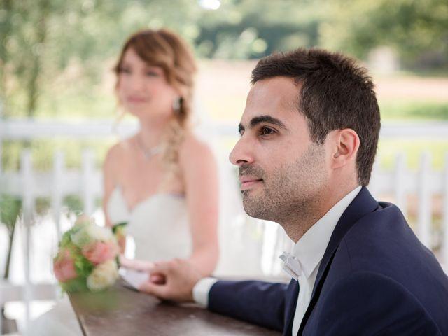 Le mariage de Taher et Adeline à La Boissière-École, Yvelines 38