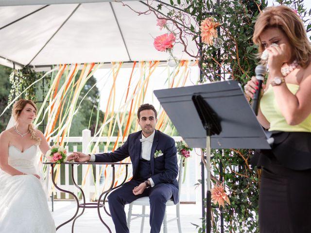 Le mariage de Taher et Adeline à La Boissière-École, Yvelines 39