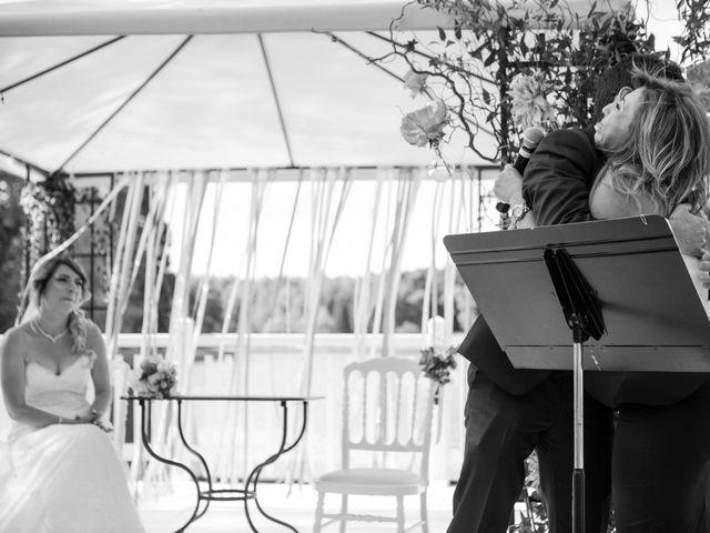 Le mariage de Taher et Adeline à La Boissière-École, Yvelines 40