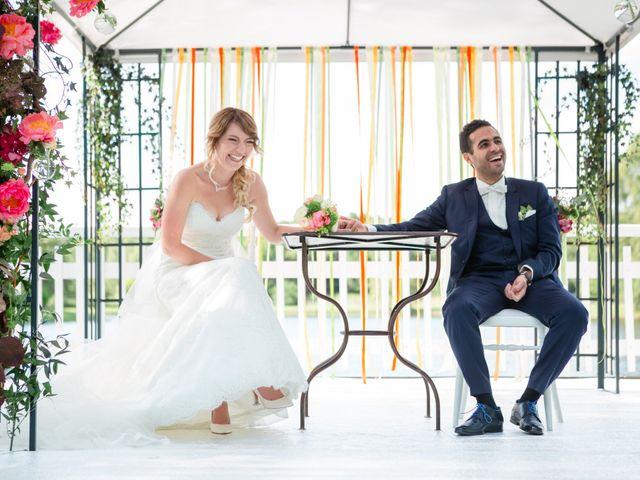 Le mariage de Taher et Adeline à La Boissière-École, Yvelines 41