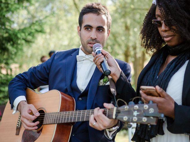 Le mariage de Taher et Adeline à La Boissière-École, Yvelines 47