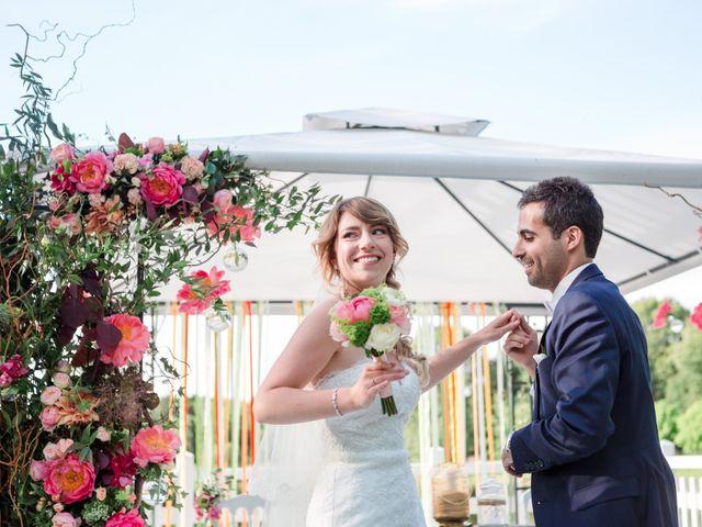 Le mariage de Taher et Adeline à La Boissière-École, Yvelines 49