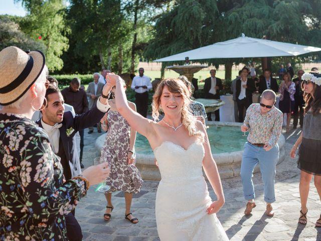 Le mariage de Taher et Adeline à La Boissière-École, Yvelines 57