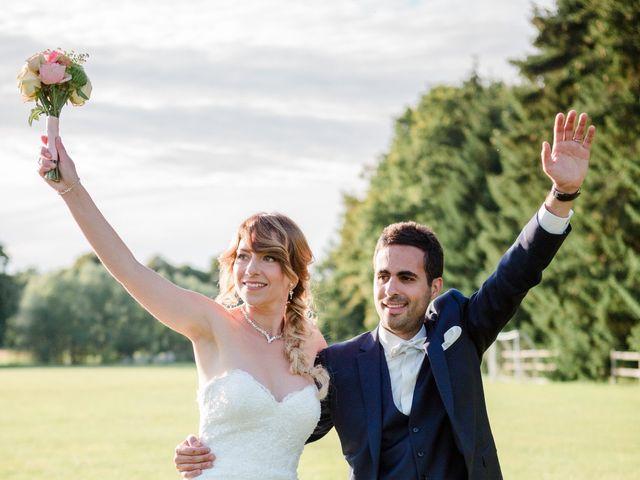 Le mariage de Taher et Adeline à La Boissière-École, Yvelines 74