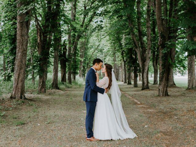 Le mariage de Anthony et Danae à Le Pin-en-Mauges, Maine et Loire 8