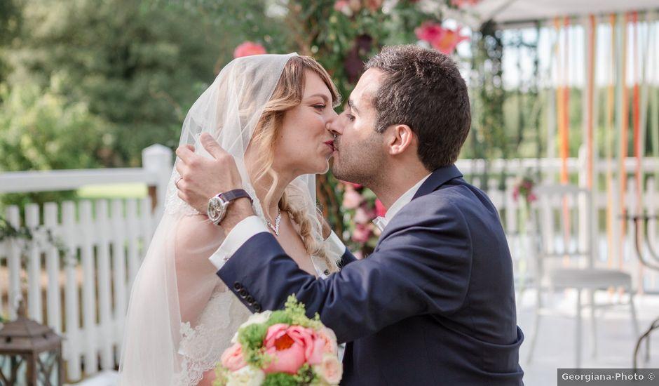 Le mariage de Taher et Adeline à La Boissière-École, Yvelines