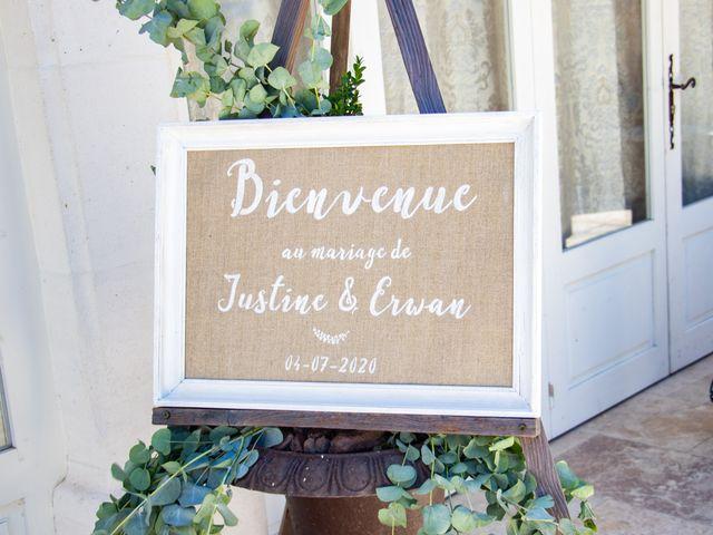 Le mariage de Erwan et Justine à Lédenon, Gard 8