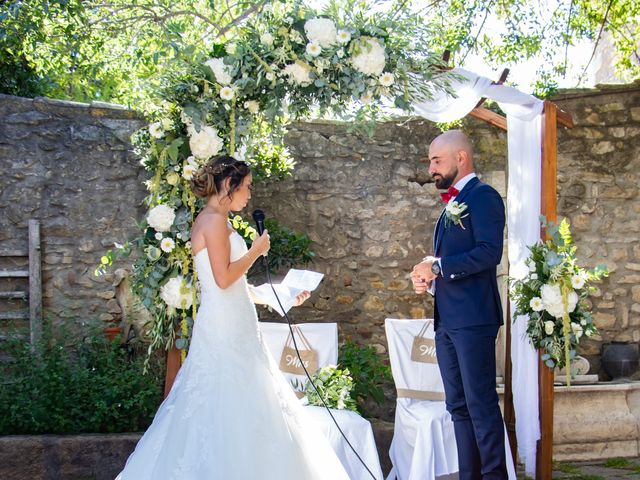 Le mariage de Erwan et Justine à Lédenon, Gard 11