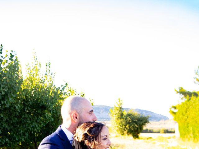 Le mariage de Erwan et Justine à Lédenon, Gard 14