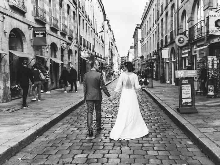 Vrais mariages de Julien de Caurel Tailleur 034132654bd