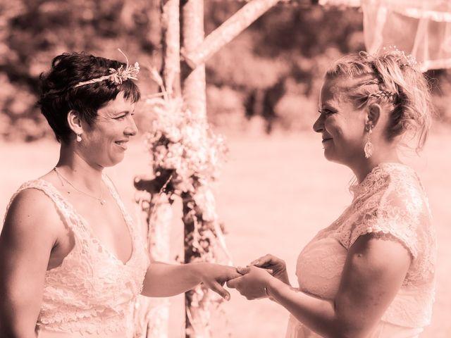 Le mariage de Magali et Nadège à Chaignay, Côte d'Or 55
