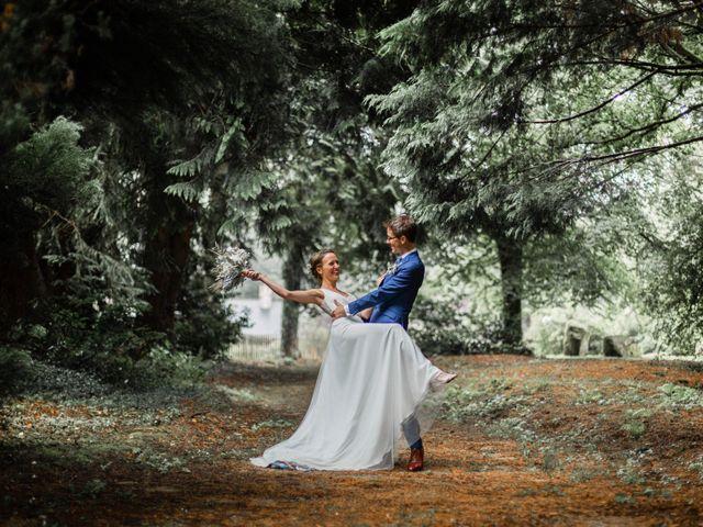 Le mariage de Juliette et Pierre à Rostrenen, Côtes d'Armor 37