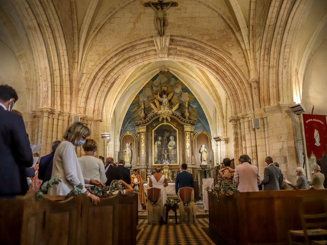 Le mariage de Baptiste et Klara à Illeville-sur-Montfort, Eure 9