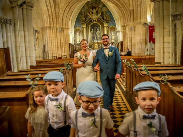 Le mariage de Baptiste et Klara à Illeville-sur-Montfort, Eure 11