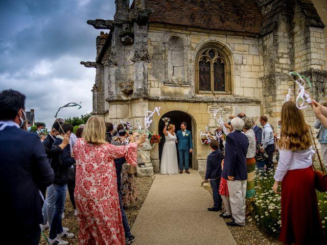 Le mariage de Baptiste et Klara à Illeville-sur-Montfort, Eure 12