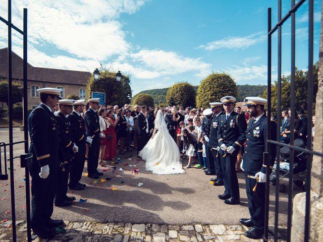 Le mariage de Julien et Deborah à Ornans, Doubs 36