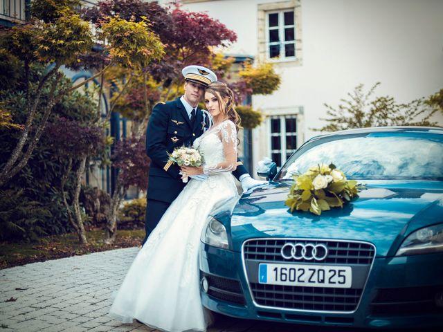 Le mariage de Julien et Deborah à Ornans, Doubs 40
