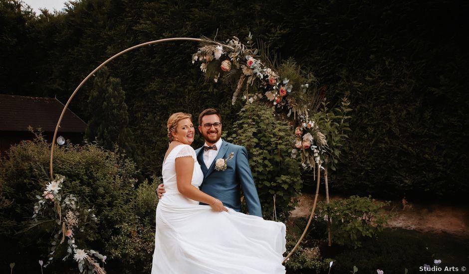 Le mariage de Baptiste et Klara à Illeville-sur-Montfort, Eure