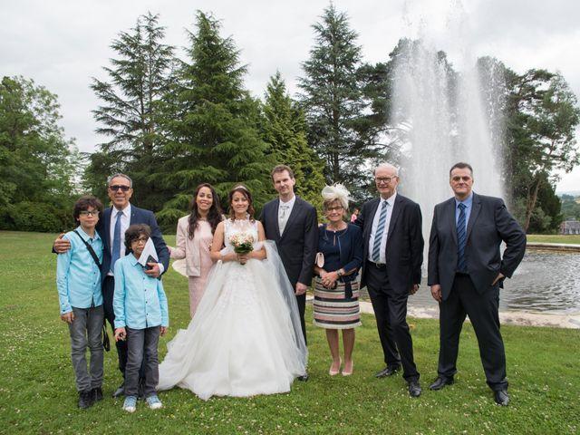 Le mariage de Sébastien et Meryem à Bagnoles-de-l'Orne, Orne 69