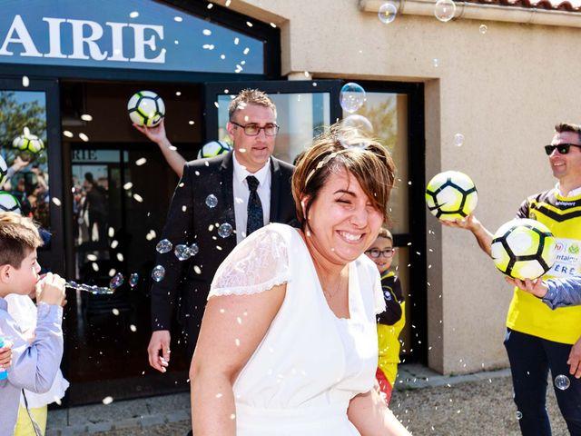 Le mariage de Thomas et Marie à Boufféré, Vendée 5