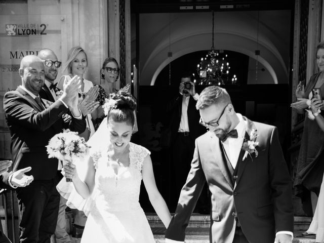 Le mariage de Damien et Solenne à Lyon, Rhône 17