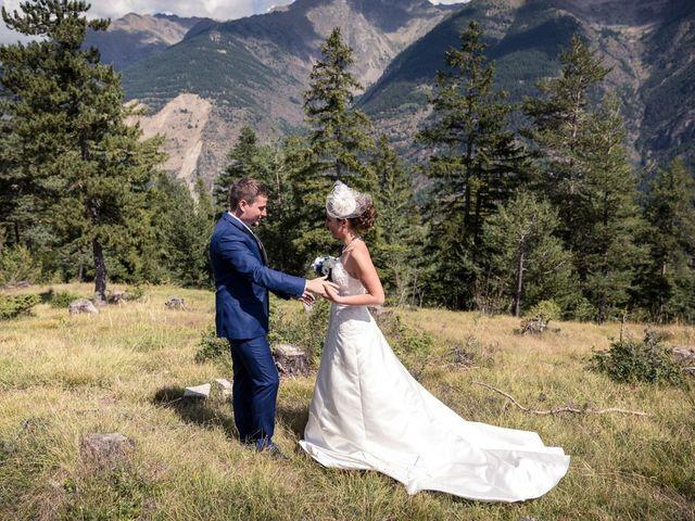 Le mariage de Cédric et Céline à Saint-Étienne-de-Tinée, Alpes-Maritimes 10
