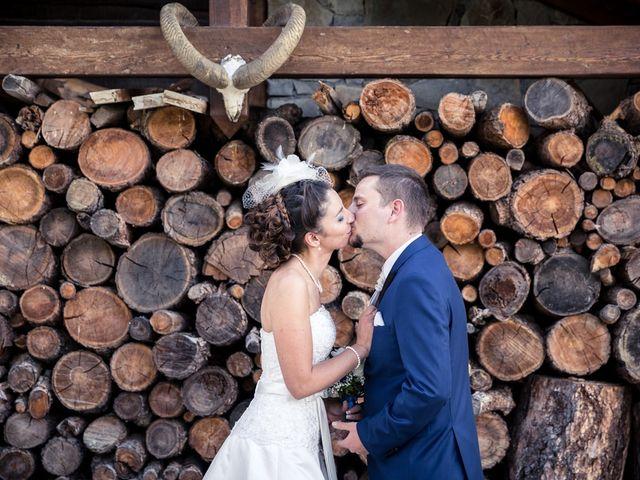 Le mariage de Cédric et Céline à Saint-Étienne-de-Tinée, Alpes-Maritimes 1