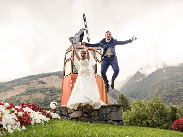 Le mariage de Cédric et Céline à Saint-Étienne-de-Tinée, Alpes-Maritimes 32