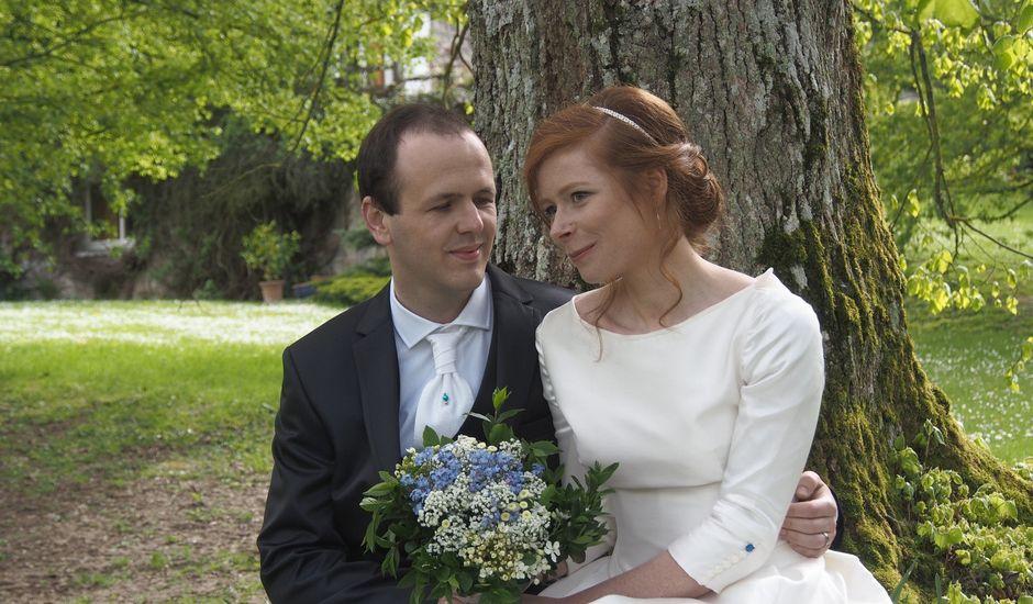 Le mariage de Romain et Lucie à Maillé, Indre-et-Loire