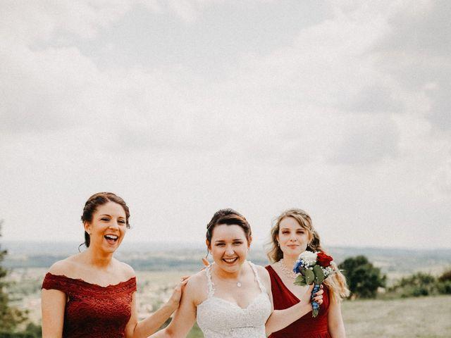 Le mariage de Gauryan et Charlène à Viré, Saône et Loire 27