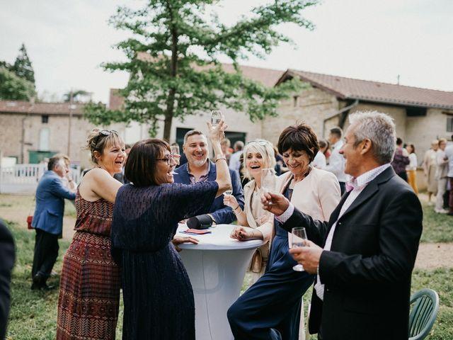Le mariage de Gauryan et Charlène à Viré, Saône et Loire 77