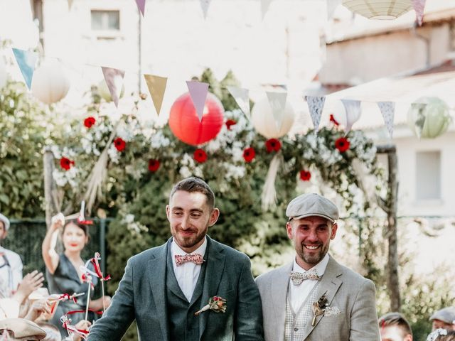 Le mariage de Pascal et Damien à Saint-Clément-sur-Valsonne, Rhône 4