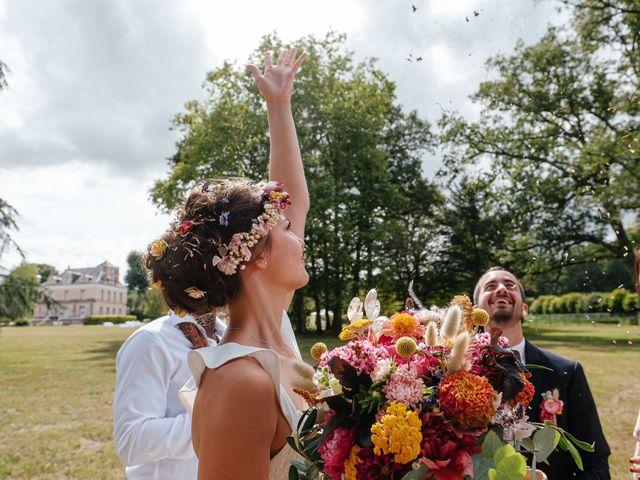 Le mariage de Rémy et Julie à Braye sur Maulne, Indre-et-Loire 35
