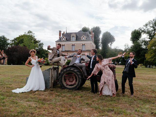 Le mariage de Rémy et Julie à Braye sur Maulne, Indre-et-Loire 41