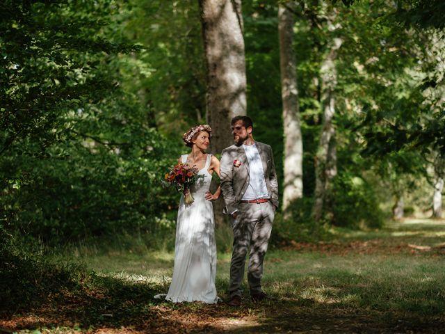 Le mariage de Rémy et Julie à Braye sur Maulne, Indre-et-Loire 45