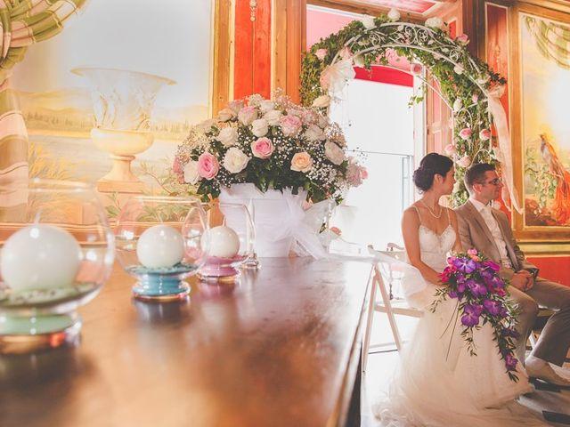Le mariage de Rémi et Kayoko à Vonnas, Ain 7