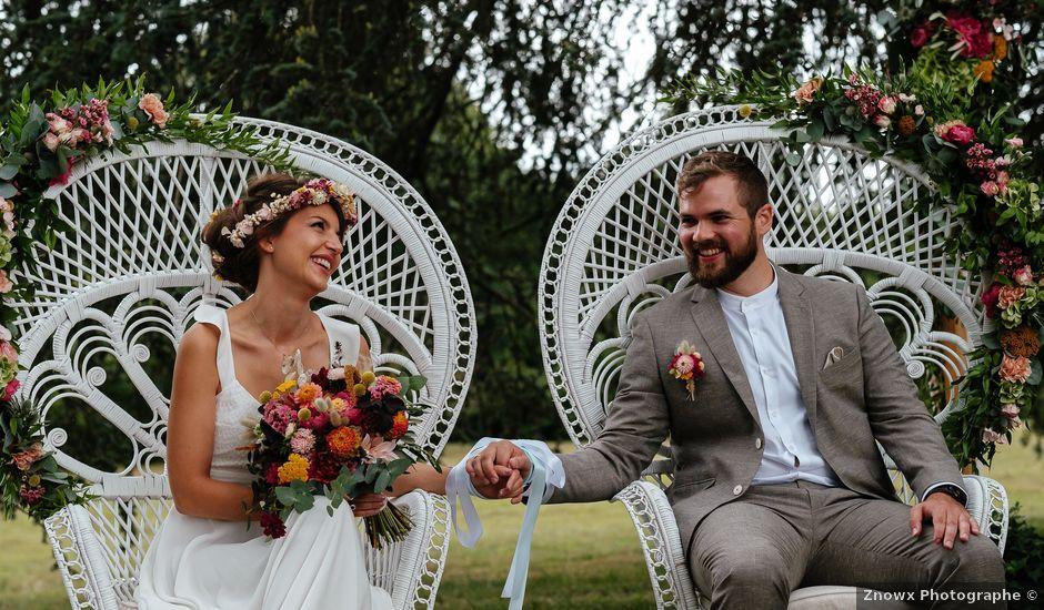 Le mariage de Rémy et Julie à Braye sur Maulne, Indre-et-Loire