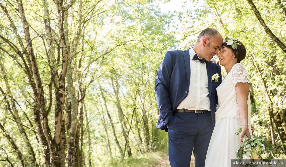 Le mariage de Pierre-Manuel et Hélène à Lalinde, Dordogne