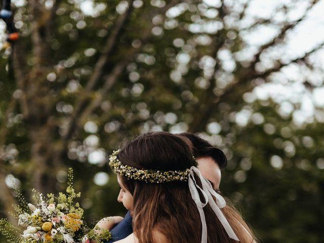 Le mariage de Thibault et Galadriel à Saint-Georges-de-Mons, Puy-de-Dôme 11