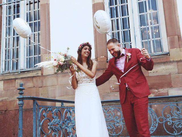 Le mariage de Boris et Elodie à Strasbourg, Bas Rhin 37