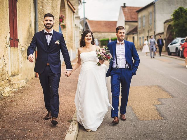 Le mariage de Romain et Chloé à Spoy, Côte d'Or 11