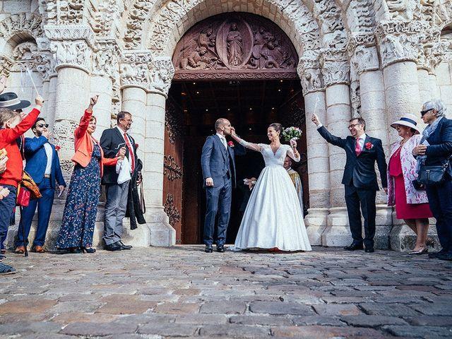 Le mariage de Maxime et Léopoldine à Poitiers, Vienne 39