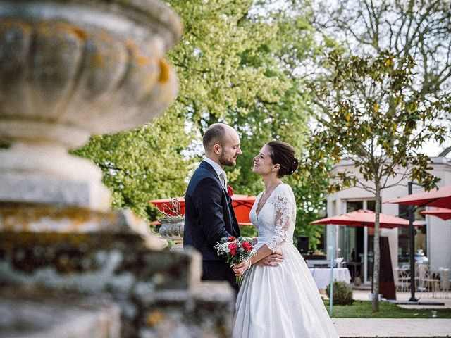 Le mariage de Maxime et Léopoldine à Poitiers, Vienne 50