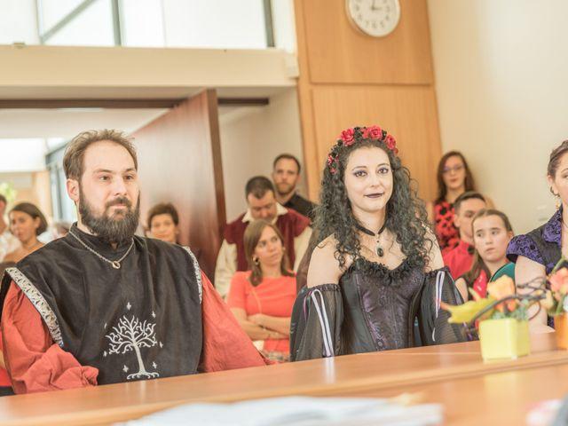 Le mariage de Josh et Laure à Marcilly-d'Azergues, Rhône 7