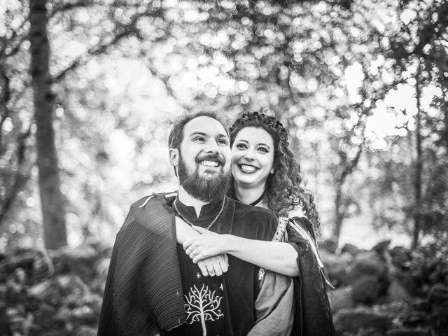 Le mariage de Josh et Laure à Marcilly-d'Azergues, Rhône 2