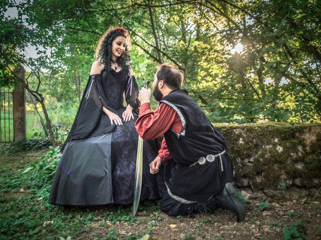 Le mariage de Josh et Laure à Marcilly-d'Azergues, Rhône 34