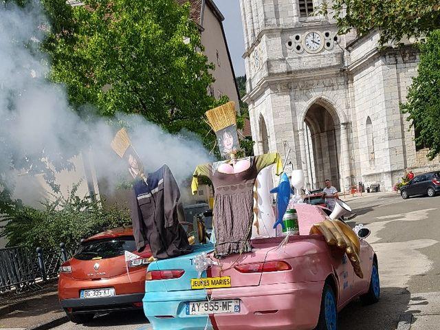 Le mariage de Julien et Laetitia à Guillon-les-Bains, Doubs 9